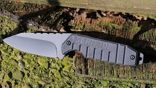 NEW! Schrade Compact Fixed Blade, Multi-Carry Knife - SCHF16 - Best Fixed Blade Drop Point Knife