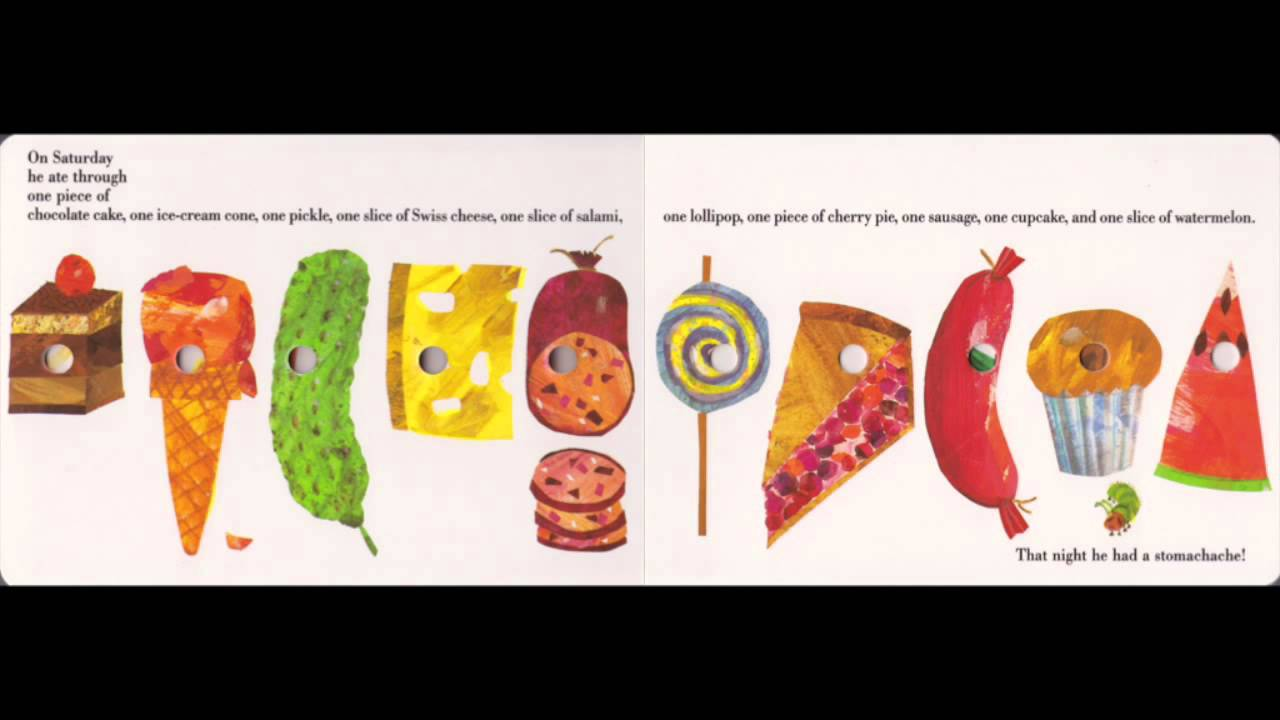 The Very Hungry Caterpillar は ...