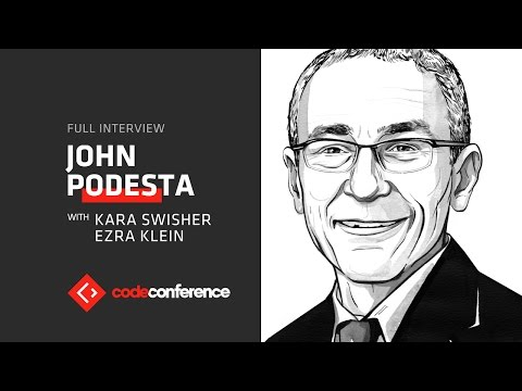 John Podesta, Chair, Hillary for America | Code Conference 2016