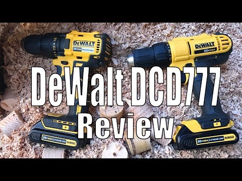 DeWalt DCD777 Review - DCD777 vs DCD771