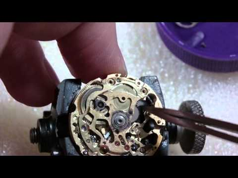How I take apart a water damaged wrist watch. Invicta S1 Rally