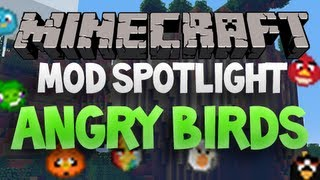 Minecraft Mod Spotlight - Angry Birds Mod