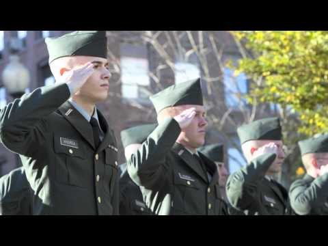 Northeastern honors veterans at ceremony
