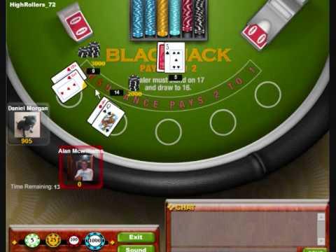 Facebook Blackjack (Free Online Games)