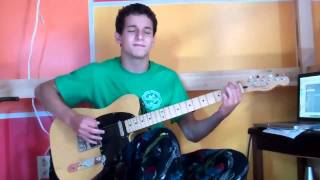 Frankenstein - Edgar Winter - Guitar Cover By Alec DeCaprio