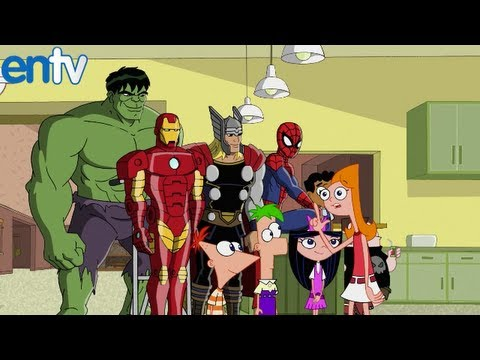 Phineas and Ferb - Mission Marvel Crossover Preview