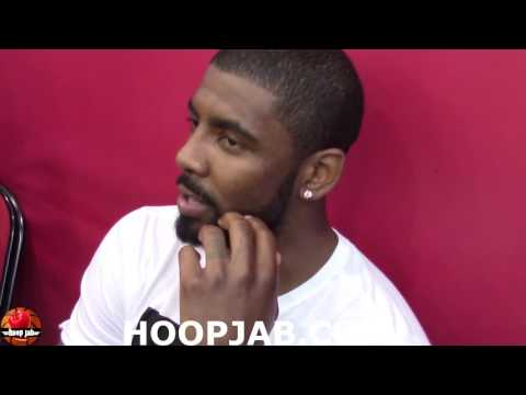 """Kyrie Irving On His Supposed """"All White No Black Girl Party"""" HoopJab"""