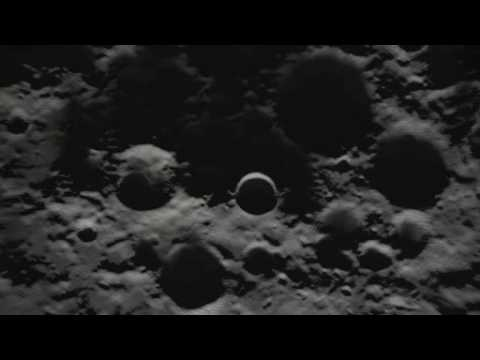 Lunar South Pole Permanently Shadowed Craters