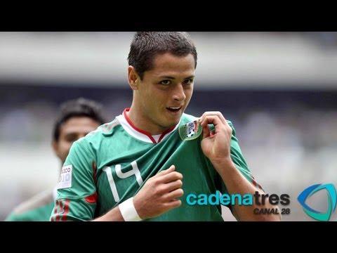 Javier El Chicharito Hernández, el tercer mejor goleador de México