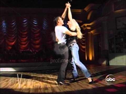 Patrick Swayze et Lisa une passion:La dance