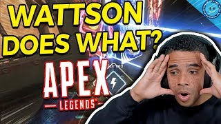 I Kept Thinking Wattson Was Bad In Apex Legends...Then I Finally Used Her In Ranked! (MIND BLOWN)