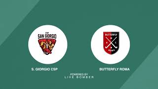 🏑 Highlights #U18M #Indoor ~ CSP San Giorgio vs Butterfly 🥅