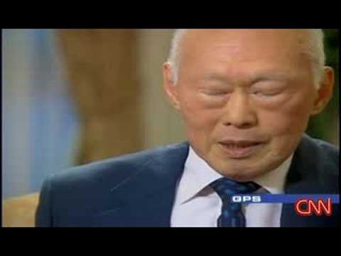 Lee Kuan Yew - Interview with Fareed Zakaria