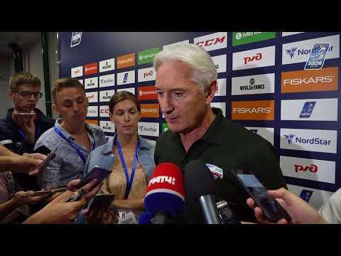 Зинэтула Билялетдинов - об итогах Sochi Hockey Open 2018