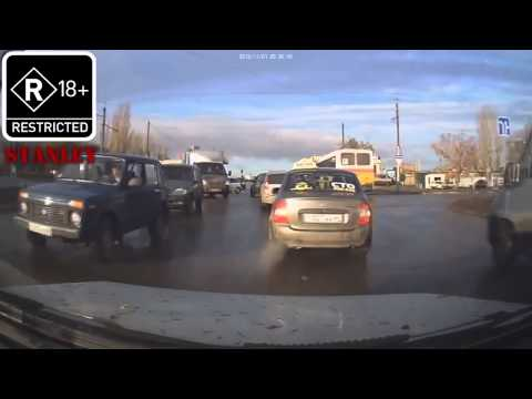 ДТП аварии Авто юмор Драки ржака 2013