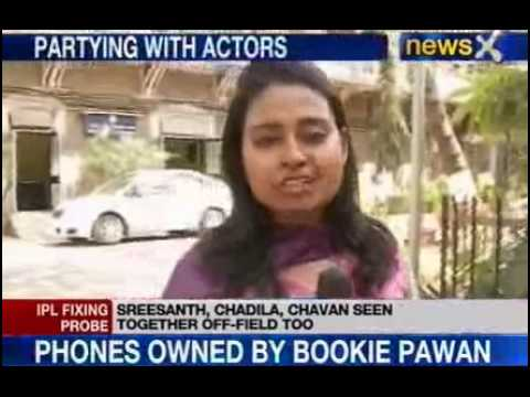 Ipl Spot Fixing : Chandila In Touch With Other Bollywood Actors video