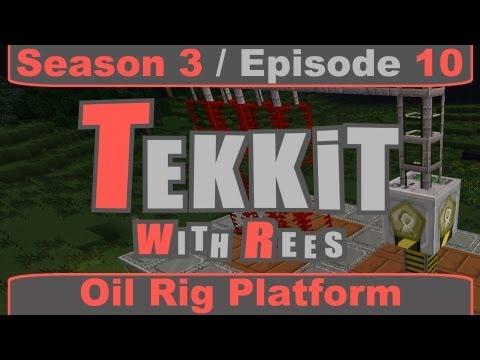 Tekkit Classic - Episode 10: Oil Rig Platform