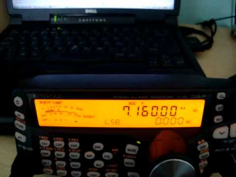 PSK31 signals appearing on 7160.0