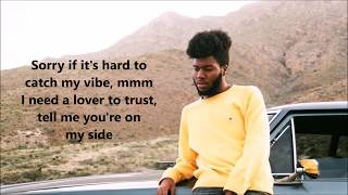 Download Lagu Khalid and Normani - Love Lies lyrics Gratis STAFABAND