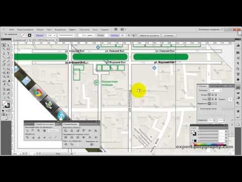 Видео как нарисовать схему проезда