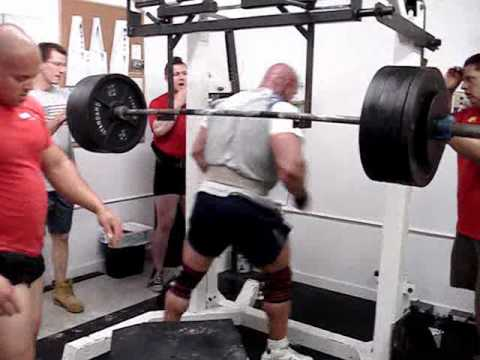 Eric Lilliebridge & Stan Efferding Squat Workout 5-23-10 Image 1