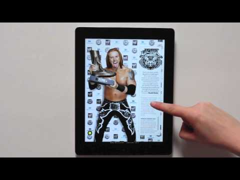 WWE Creates an Interactive Digital Magazine