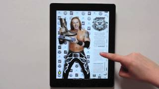 WWE: World Wrestling Entertainment - Interactive Tablet App l Mag+