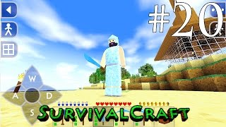 (GAMEPLAY) SURVIVALCRAFT ANDROID 1.28 / [ SOBREVIVÊNCIA DIA # 20 - ARMADURA DE DIAMANTE ]