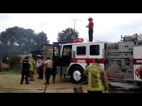Microinformativo Yo Soy de Chone | Dos familias en la indigencia a causa del incendio