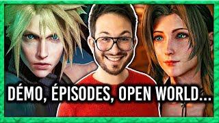 Final Fantasy 7 Remake : démo, épisodes, gameplay, open world... toutes les infos