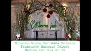 ARREGLOS FLORALES PARA  SALON DE EVENTOS