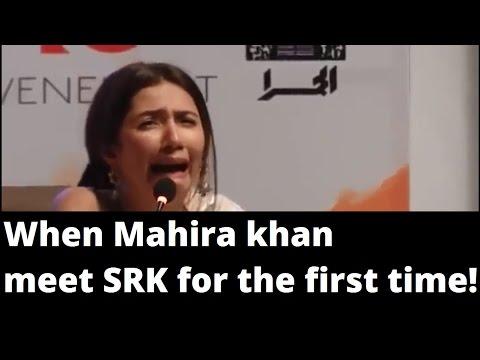 When Mahira Khan meet Shahrukh khan for the first time !! shocking thumbnail