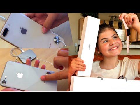 Шоппинг в Apple Store Новые IPhone 8 и 8 Plus Распаковка APPLE WATCH SERIES 3
