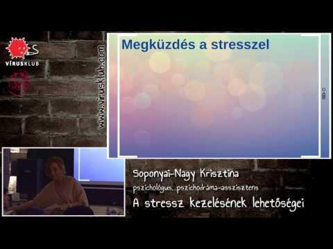 A stressz kezelésének lehetőségei | Soponyai-Nagy Krisztina