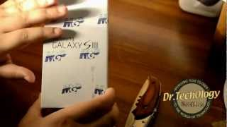 Samsung Galaxy S3 - Unboxing & Quick Look