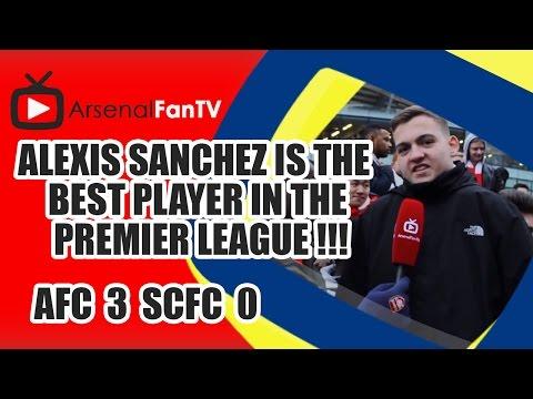 Alexis Sanchez Is The Best Player In The Premier League !!! - Arsenal 3 Stoke City 0
