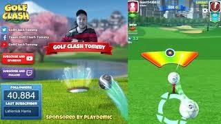 Golf Clash tips, Playthrough, Hole 1-9 - ROOKIE - Skyline Cup Tournament!