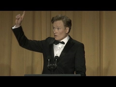 Conan O'Brien White House Correspondents' Dinner Highlights