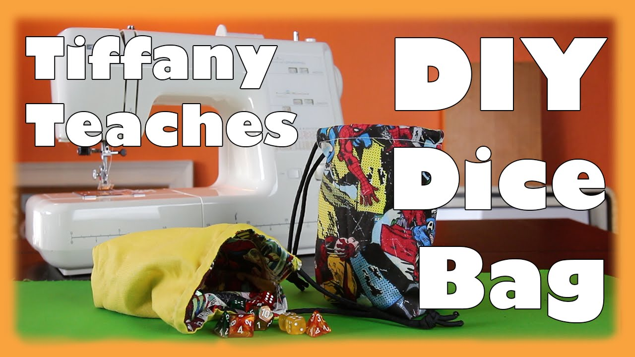 It is a photo of Priceless Dice Bag Printable Pattern