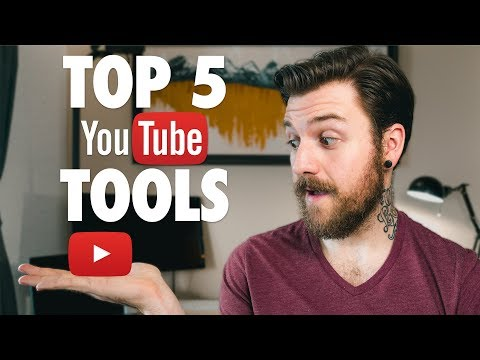 Five YouTube Tools To Grow Your Channel