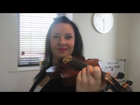 HOW TO: Hold The Violin - Re-cap, check your bad habits...