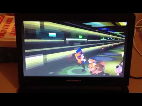 Starfox 64 running on the Raspberry Pi (N64 Emulator)