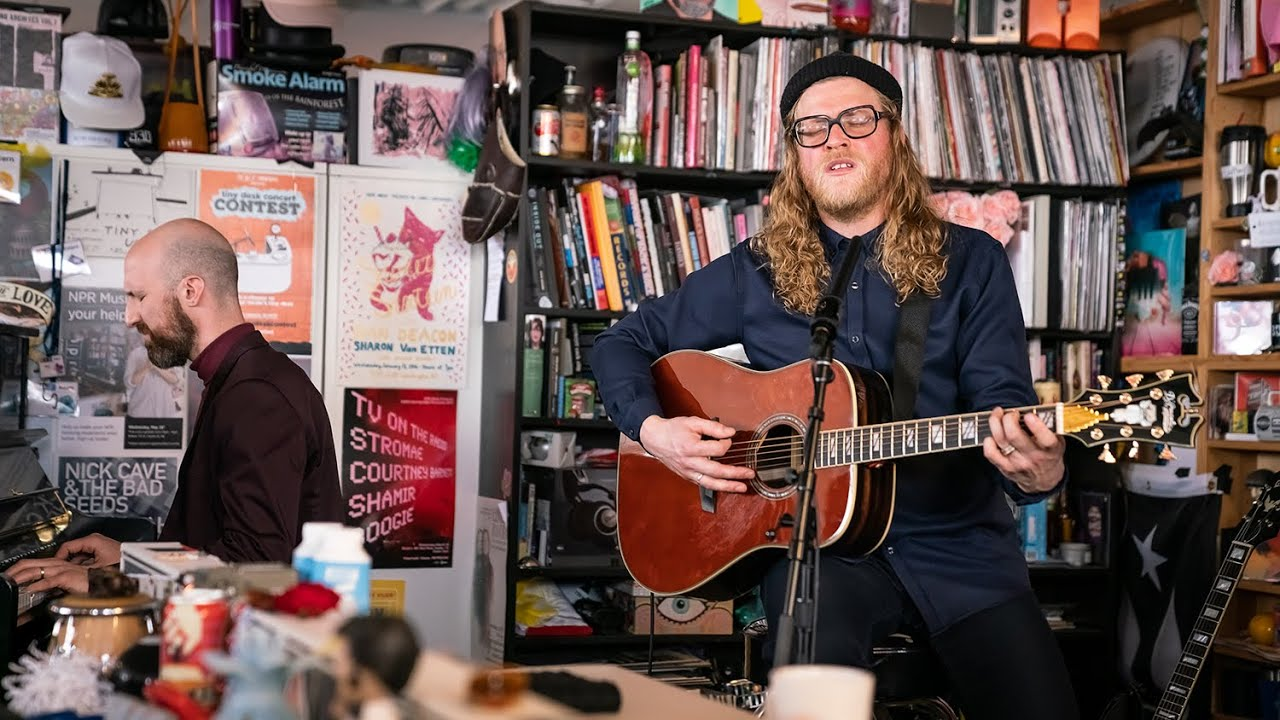 "Allen Stone - NPR Music Tiny Desk Concertにて""Give You Blue""など4曲を披露 ライブ映像を公開 thm Music info Clip"