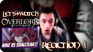 AINZ VS SHALLTEAR!!| LET'S WATCH Overlord Episode 12 REACTION!!