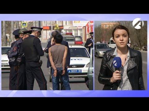 Прямое включение с места задержания на улице Боевой 13.04.2017