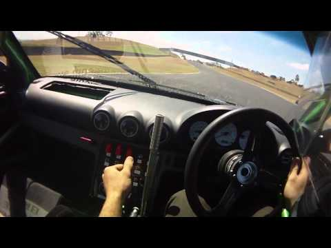 RB26 180sx Drifting @ Powercruise