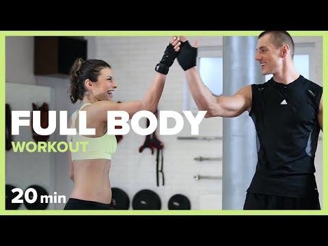 GYM BREAK - 20 min Full Body Workout by Szymon Gaś & Katarzyna Kępka