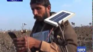 How solar panel change life of this man ? Watch video