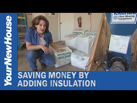 Attic Blown-in Insulation DIY (#5149)