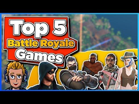 Top 5 Battle Royale Games | Die besten 5 Battle Royale Spiele 2021 | Deutsch